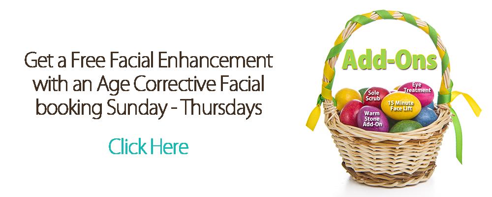 Free Enhancement facial Banner