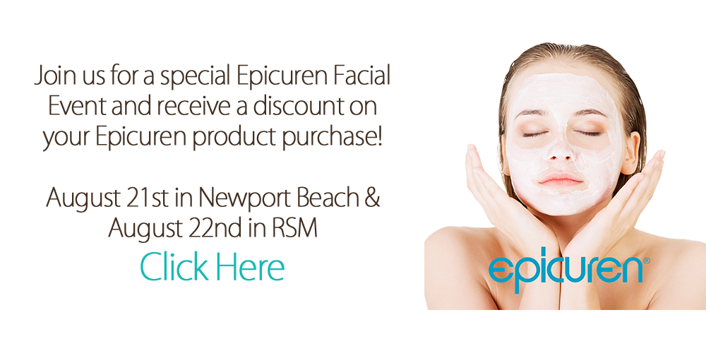 Web Bannere Epicuren Facial Event