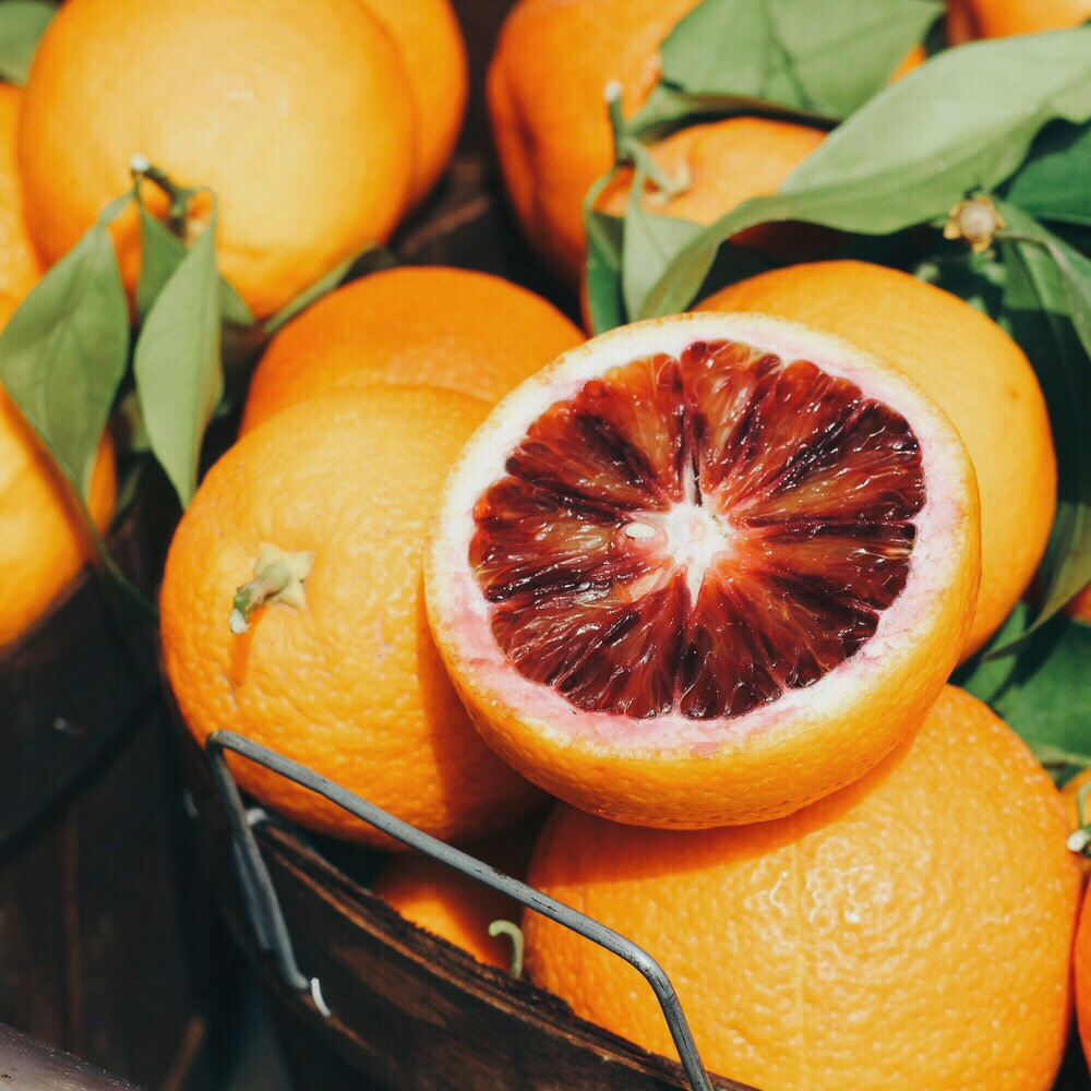 blood oranges.